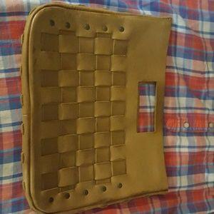 Vintage Gap leather clutch